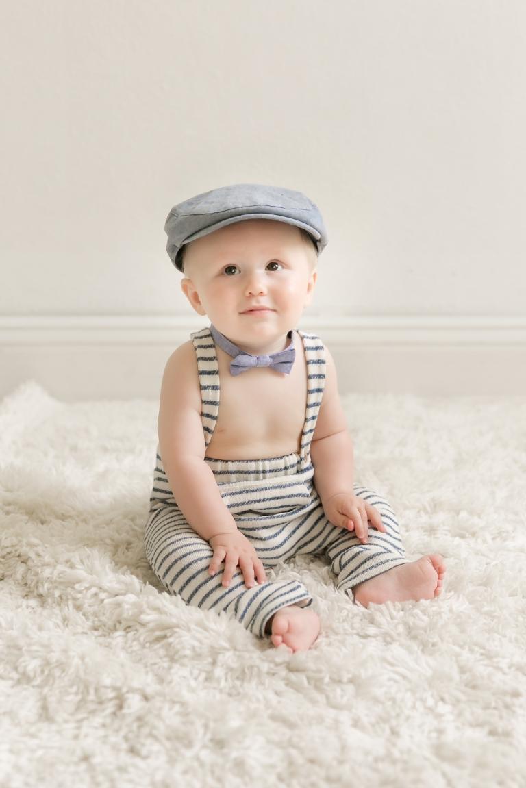 best minneapolis baby photographer in studio